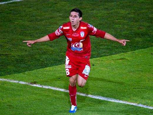 Héctor Herrera sustituto