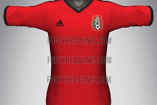 Jersey Mexico Rojo para el mundial