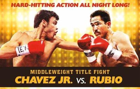 Julio César Chávez Jr vs Marco Antonio Rubio por el titulo