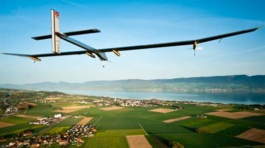 Avion Solar Impulse vuela por todo Estados Unidos