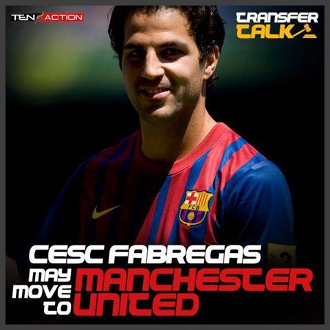 Cesc Fabregas Interesa al Manchester United