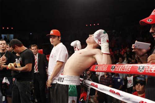 Sobrepeso boxeadores