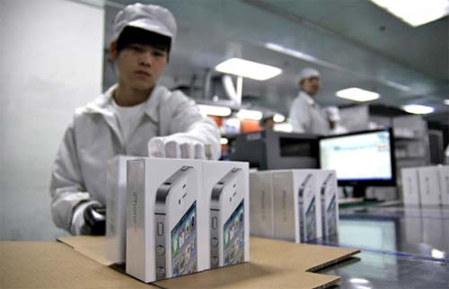 Fabricas de Apple