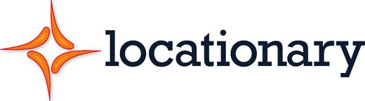 Locationary Logo. La empresa de datos comprada por Apple