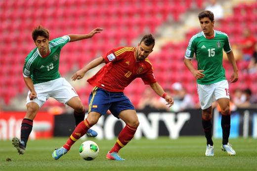 España elimina a Mexico mundial sub 20