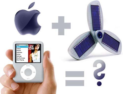 Apple quiere cargar gadgets con energía solar y ser respetuoso con el medio ambiente