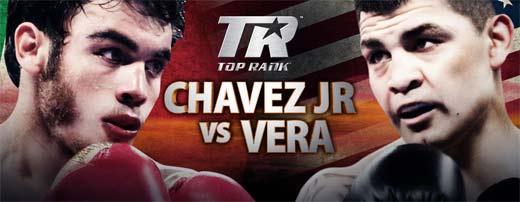 Julio César Chávez Jr le gana a Brian Vera en una polémica decisión de los jueces