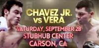 Chavez Jr vs Brian Vera, peleas de box del 2013