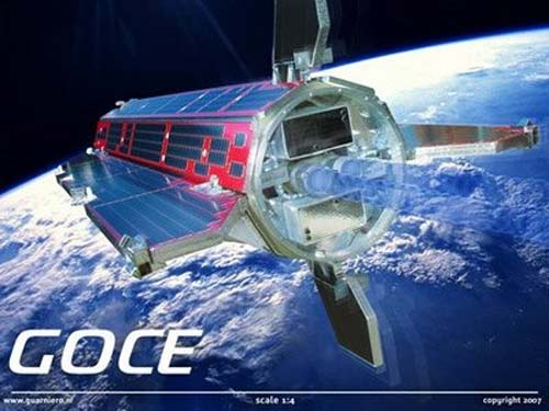 Satelite europeo GOCE