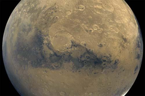 Marte superficie imagen