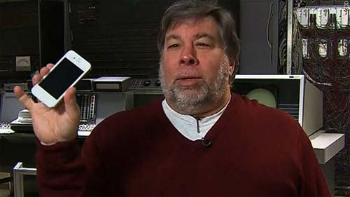 Steve Wozniak sueter rojo