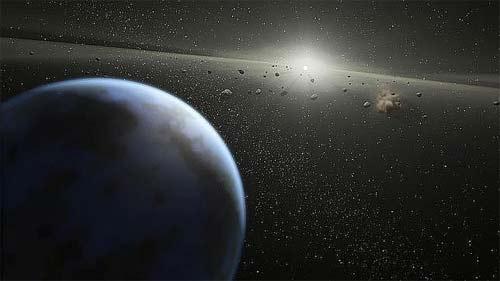 Asteroide Tierra imagen