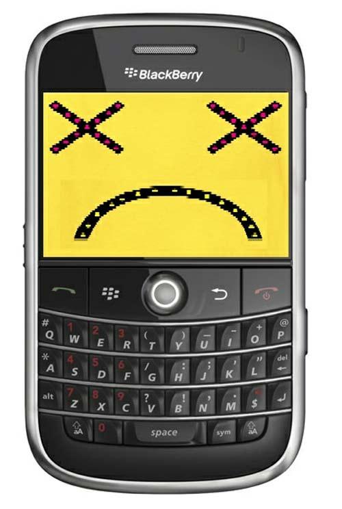 BlackBerry Smartphone Muerto