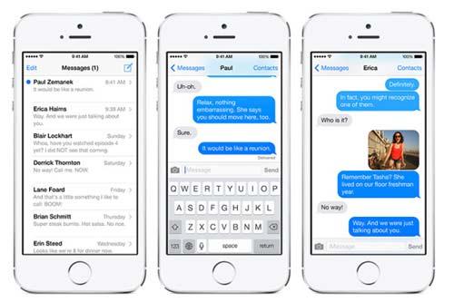 iOS 7 pantalla