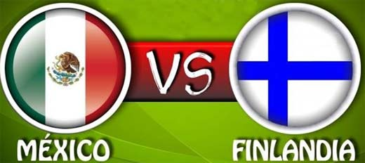 México contra Finlandia, 30 de Octubre de 2013.