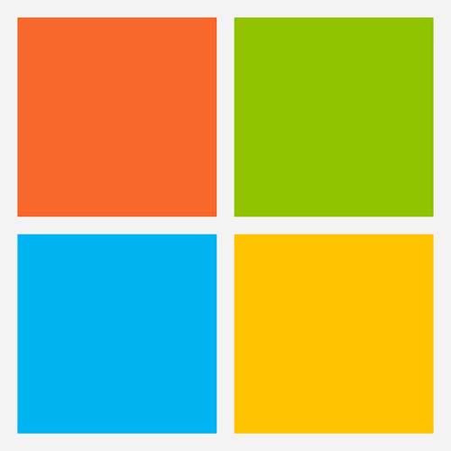 Logo Microsoft cuadro
