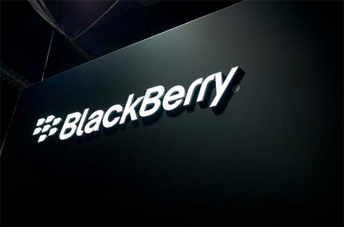 BlackBerry blanco negro