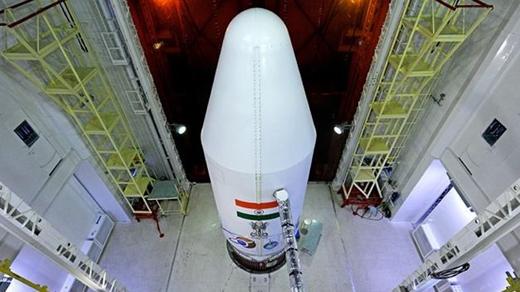 India lanza su satélite a Marte