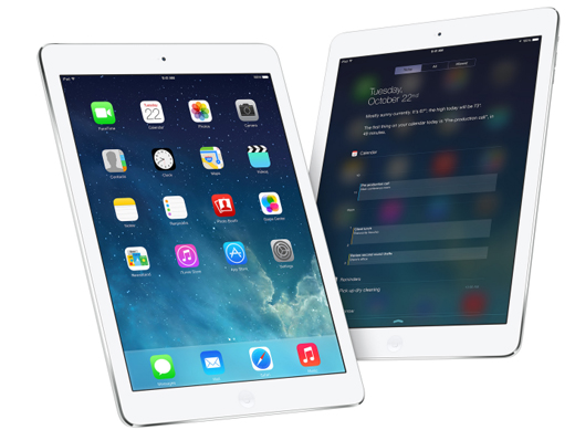 Utilidades que obtiene Apple de su iPad Air