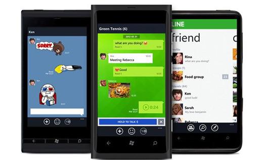 Line ofrece servicio de mensajería y llamadas a móviles