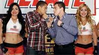 Jorge Maromerito Paez Jr contra Iván Hernández en una pelea interesante