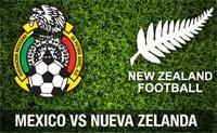 México juega contra Nueva Zelanda en el repechaje