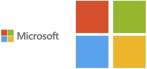 Microsoft Logo colores
