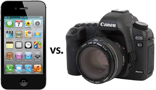 Ventas de cámara DSLR se ven afectadas por tecnología en smartphones
