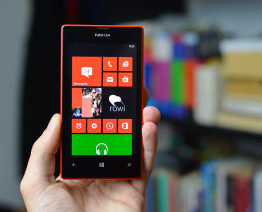 Nivel de ventas del Windows Phone en América Latina