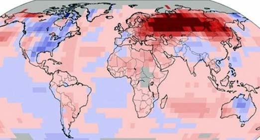 2014 será extremadamente caluroso y frío, dependiendo en qué parte del mundo estés