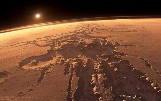 Rios misteriosos de Marte