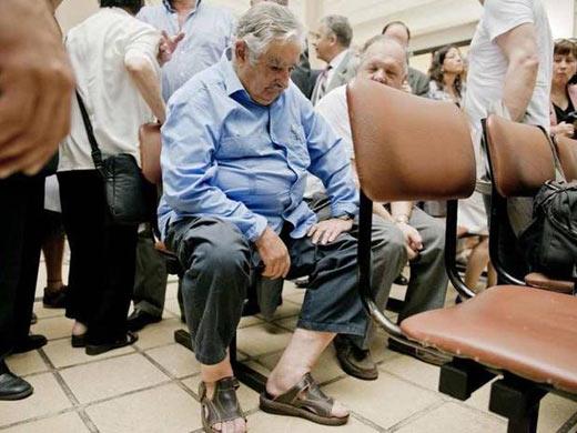 Vestimenta de José Mujica