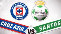Cruz Azul vs Santos Laguna