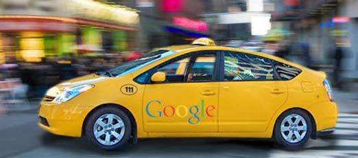 Taxis de Google para viajes gratis con publicidad