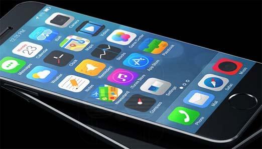 iPhone 6 con paneles de energía solar para cargar la batería
