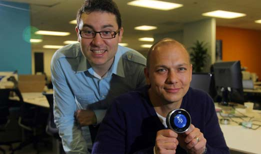 Equipo de Nest Labs, empresa adquirida por Google
