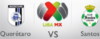 Querétaro FC vs Santos Laguna, Jornada 4 del Clásico