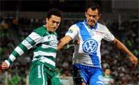 Santos contra Puebla, los juegos del torneo de clausura