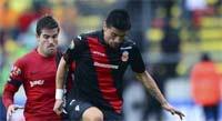 Xolos de Tijuan juegan contra Morelia en el Estadio Caliente