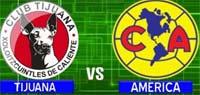 Xolos de Tijuana vs Águilas del América en vivo y en directo