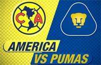 América contra Pumas clásico juego