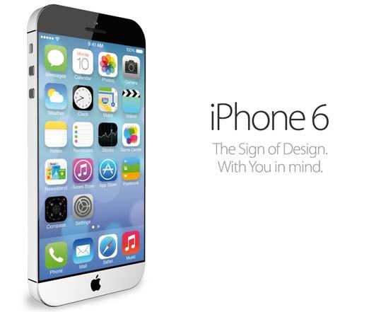 iPhone 6 con pantalla de zafiro y carga de energía solar