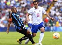 Querétaro contra Cruz Azul se enfrentan en el Estadio La Corregidora