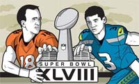 Super Bowl XLVIII, super tazón 2014