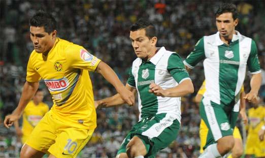 América contra Santos Laguna en línea