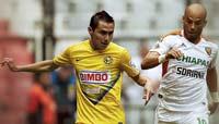América contra Chiapas, juego correspondiente a la Jornada 11