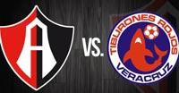 Atlas contra Veracruz para lucha contra el descenso