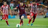 Barcelona enfrenta a Atlético de Madrid en el juego de ida