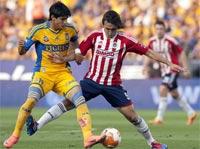 Chivas de Guadalajara contra Tigres de la UANL, Jornada 9