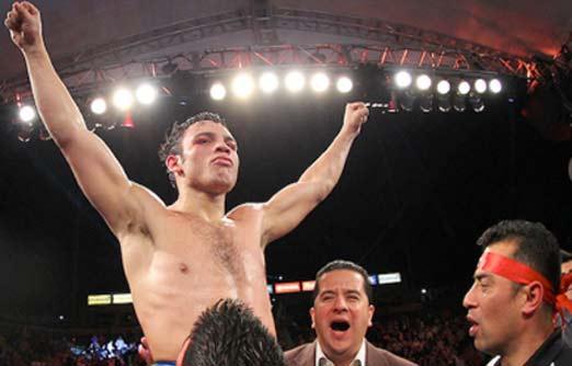 Julio César Chávez le gana a Brian Vera en la segunda pelea